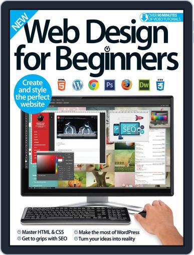 Web Design For Beginners October 17th, 2016 Digital Back Issue Cover