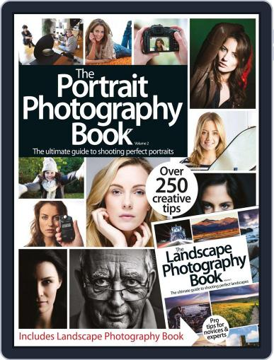 The Portraits / Landscapes Photography Book June 5th, 2014 Digital Back Issue Cover