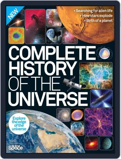 Complete History of the Universe January 1st, 2016 Digital Back Issue Cover