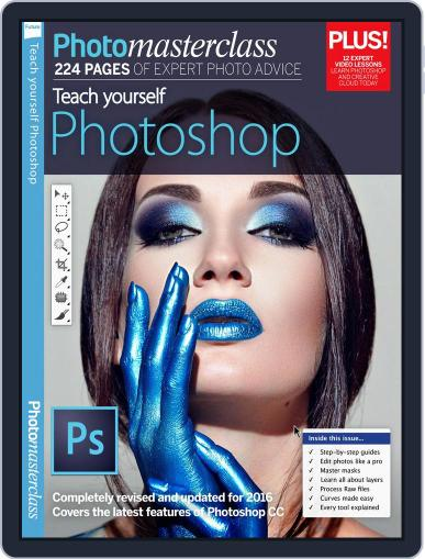 Teach Yourself Photoshop September 5th, 2016 Digital Back Issue Cover