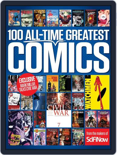 100 All-Time Greatest Comics June 1st, 2016 Digital Back Issue Cover