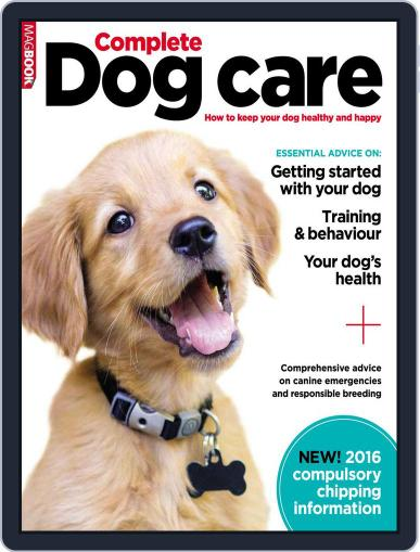 Complete Dog Care January 6th, 2016 Digital Back Issue Cover