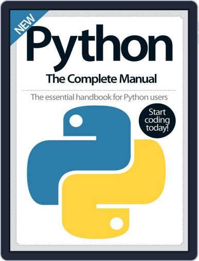 Python The Complete Manual October 1st, 2016 Digital Back Issue Cover