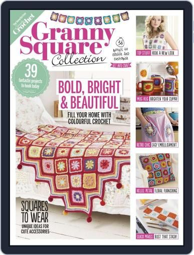 Granny Square Collection July 1st, 2016 Digital Back Issue Cover