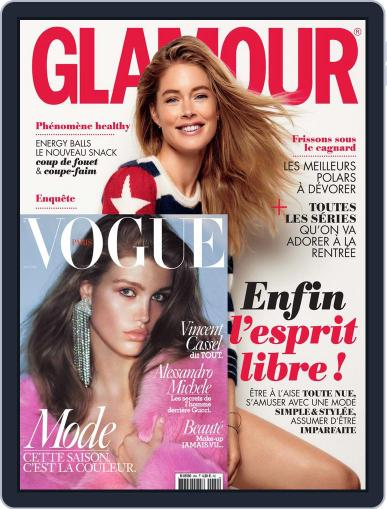 Glamour + Vogue August 1st, 2016 Digital Back Issue Cover