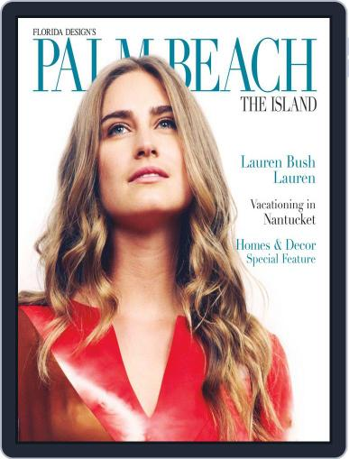 Florida Design's PALM BEACH THE ISLAND July 1st, 2012 Digital Back Issue Cover