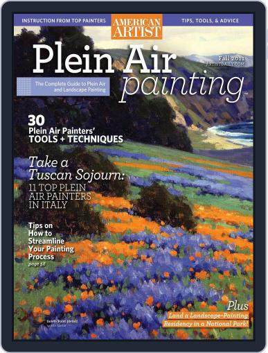 Plein Air October 25th, 2011 Digital Back Issue Cover
