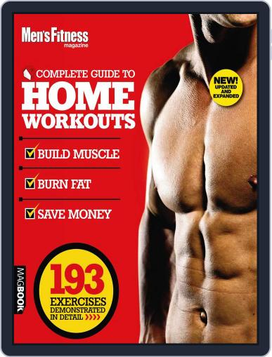 Men's Fitness Complete Guide to Home Workouts 2nd Edition August 1st, 2011 Digital Back Issue Cover