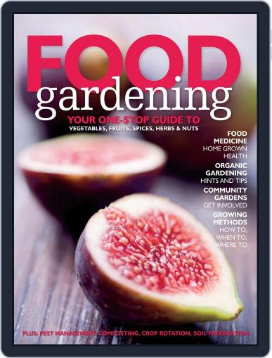 Food Gardening October 25th, 2012 Digital Back Issue Cover