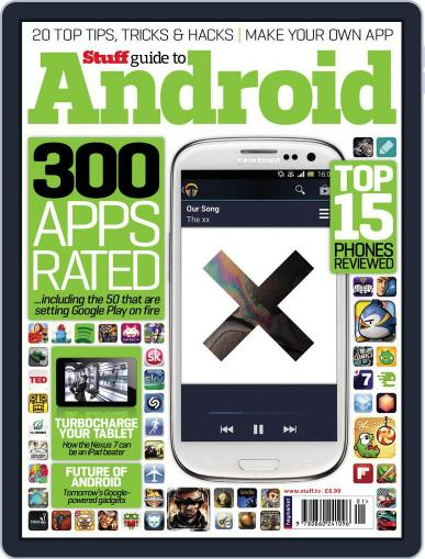 Stuff Guide to Android December 13th, 2012 Digital Back Issue Cover