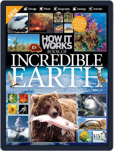 How It Works Book of Incredible Earth July 1st, 2016 Digital Back Issue Cover