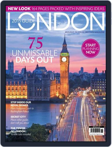 London - The 2015 Guide December 18th, 2014 Digital Back Issue Cover