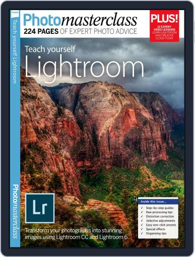Teach Yourself Lightroom November 1st, 2016 Digital Back Issue Cover