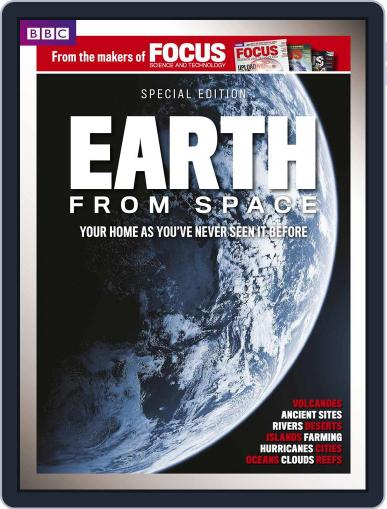 BBC Focus Magazine present Earth from Space October 2nd, 2014 Digital Back Issue Cover