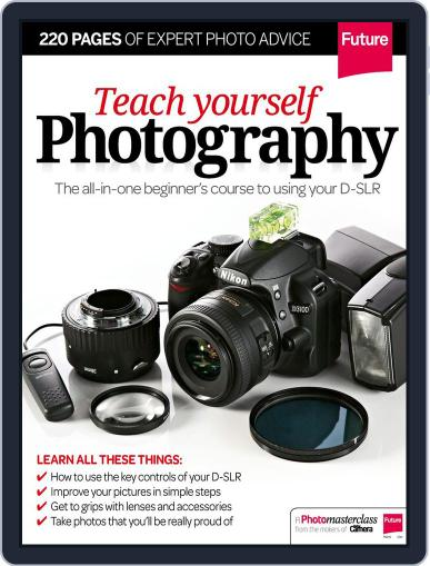 Teach Yourself Photography December 30th, 2014 Digital Back Issue Cover