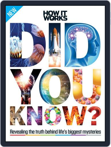 How It Works Book of Did You Know? November 1st, 2016 Digital Back Issue Cover