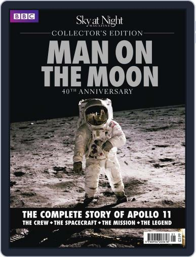 Man on The Moon Collector's Edition September 7th, 2010 Digital Back Issue Cover