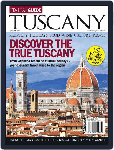 Italia! Guide to Tuscany February 10th, 2011 Digital Back Issue Cover