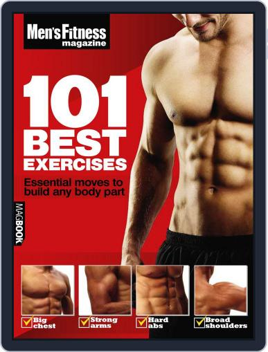 Men's Fitness 101 Best Exercises April 14th, 2011 Digital Back Issue Cover