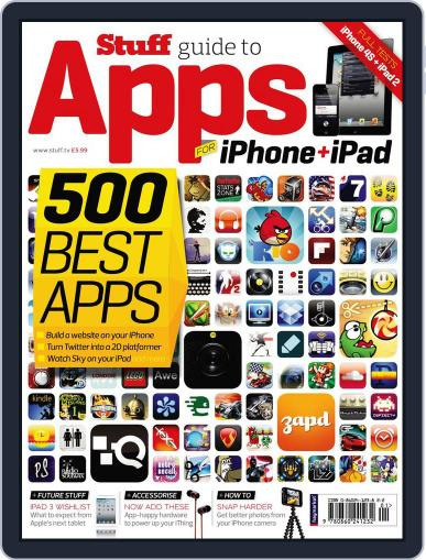 Stuff's Ultimate Guide to iPhone & iPad Apps November 14th, 2011 Digital Back Issue Cover