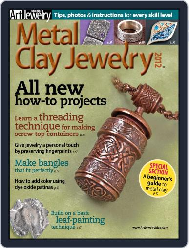 Metal Clay Jewelry April 3rd, 2012 Digital Back Issue Cover