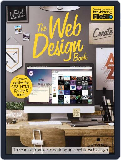 The Web Design Book April 1st, 2016 Digital Back Issue Cover
