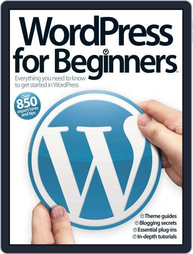Wordpress For Beginners Vol 1 July 25th, 2012 Digital Back Issue Cover
