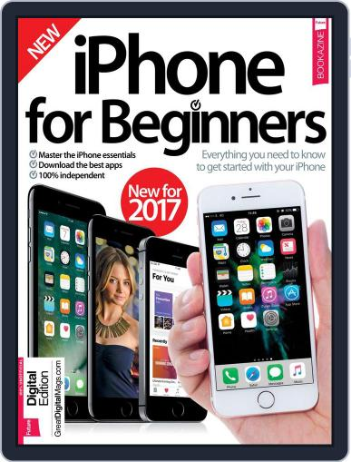iPhone for Beginners March 1st, 2017 Digital Back Issue Cover