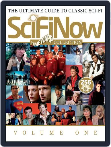SciFiNow Time Warp Collection October 25th, 2012 Digital Back Issue Cover