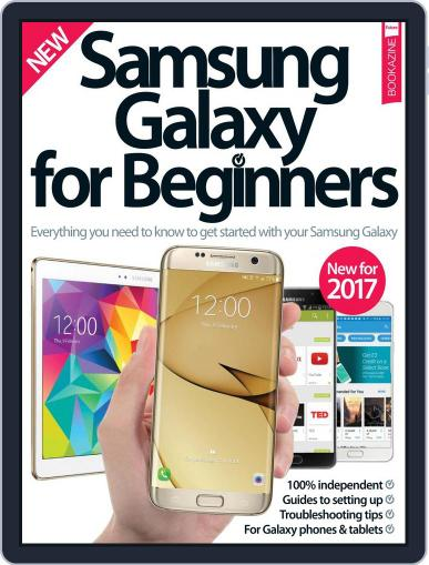 Samsung Galaxy For Beginners February 1st, 2017 Digital Back Issue Cover