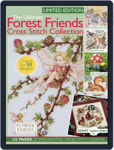 The Ultimate Forest Friends Cross Stitch Collection September 13th, 2016 Digital Back Issue Cover