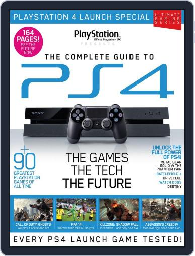 The Ultimate Guide to PS4 December 26th, 2013 Digital Back Issue Cover
