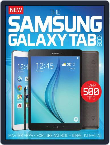 The Samsung Galaxy Tab Book August 5th, 2015 Digital Back Issue Cover