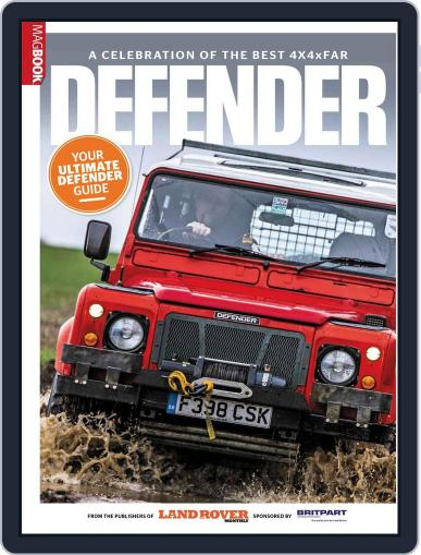 Landrover Defender 2 January 16th, 2014 Digital Back Issue Cover