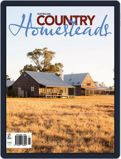 Australian Country Homesteads March 16th, 2014 Digital Back Issue Cover