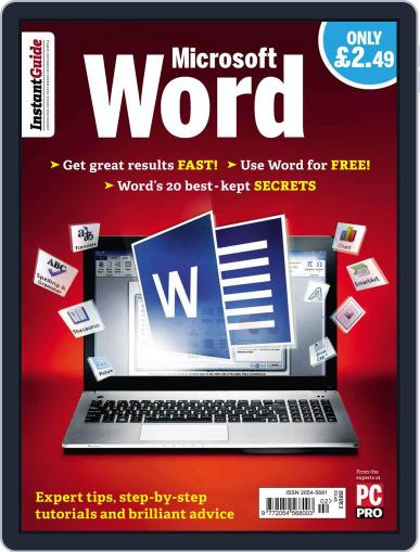 Instand Guide: Microsoft Word March 19th, 2014 Digital Back Issue Cover