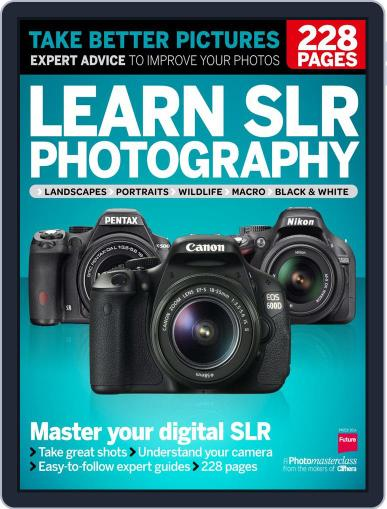 Learn SLR Photography March 31st, 2014 Digital Back Issue Cover