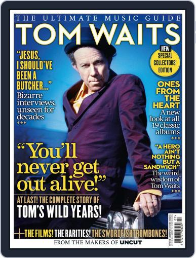 Tom Waits - The Ultimate Music Guide July 30th, 2014 Digital Back Issue Cover