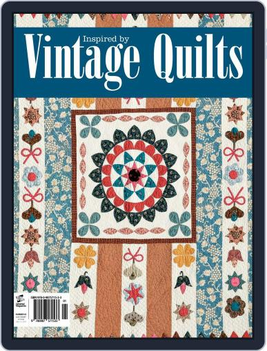 Inspired by Vintage Quilts November 3rd, 2014 Digital Back Issue Cover