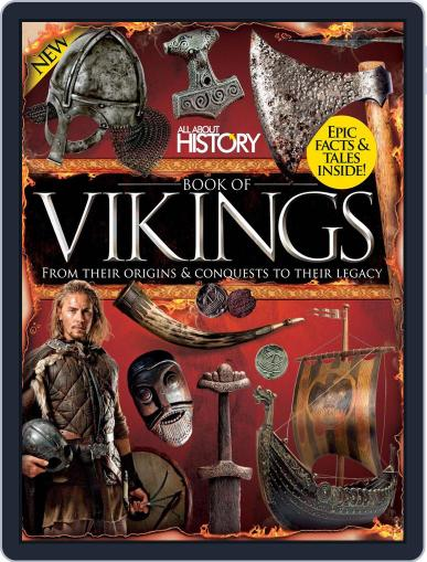 All About History Book of Vikings December 1st, 2016 Digital Back Issue Cover