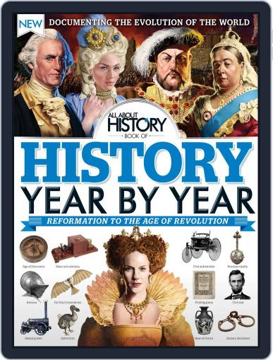 All About History Book of History Year By Year December 1st, 2016 Digital Back Issue Cover