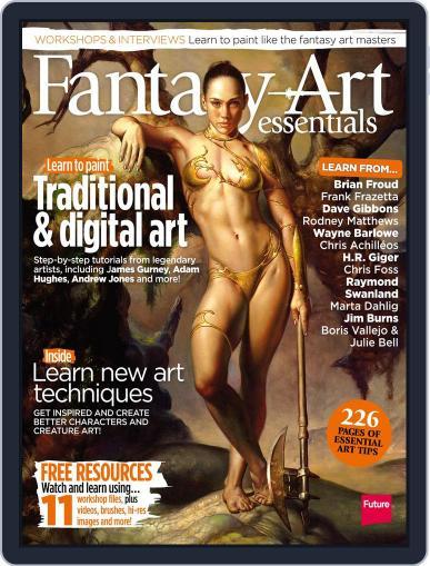 Fantasy Art Essentials December 30th, 2014 Digital Back Issue Cover