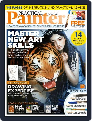 Practical Painter January 1st, 2017 Digital Back Issue Cover