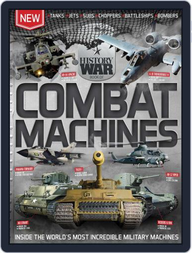 History of War Book of Combat Machines June 1st, 2016 Digital Back Issue Cover