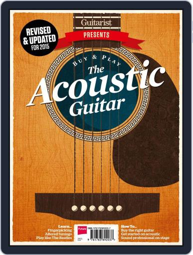 Buy And Play The Acoustic Guitar September 3rd, 2015 Digital Back Issue Cover