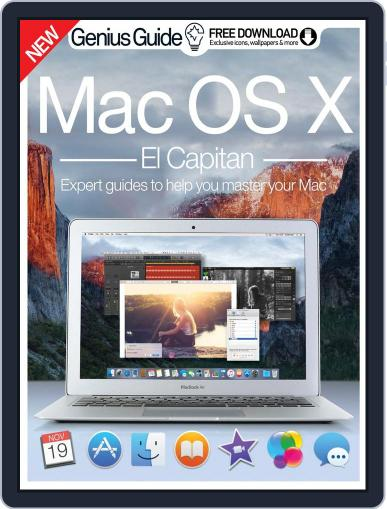 Mac OS X El Capitan Genius Guide November 18th, 2015 Digital Back Issue Cover