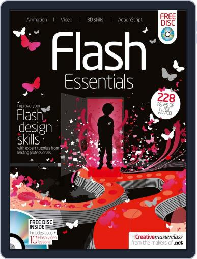 Flash Essentials August 3rd, 2010 Digital Back Issue Cover