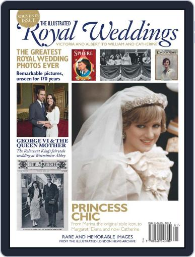 The Illustrated Royal Weddings April 7th, 2011 Digital Back Issue Cover