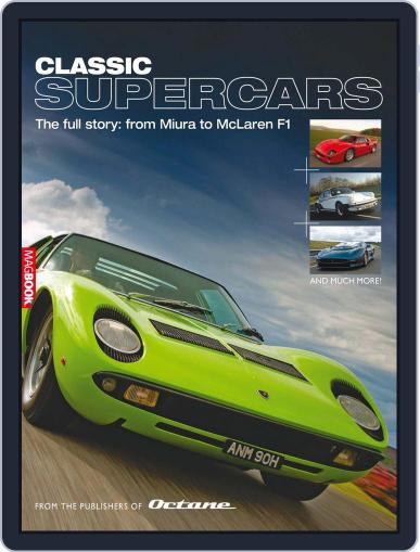 Classic Supercars June 8th, 2011 Digital Back Issue Cover