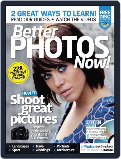 Better Photos Now! September 2nd, 2011 Digital Back Issue Cover